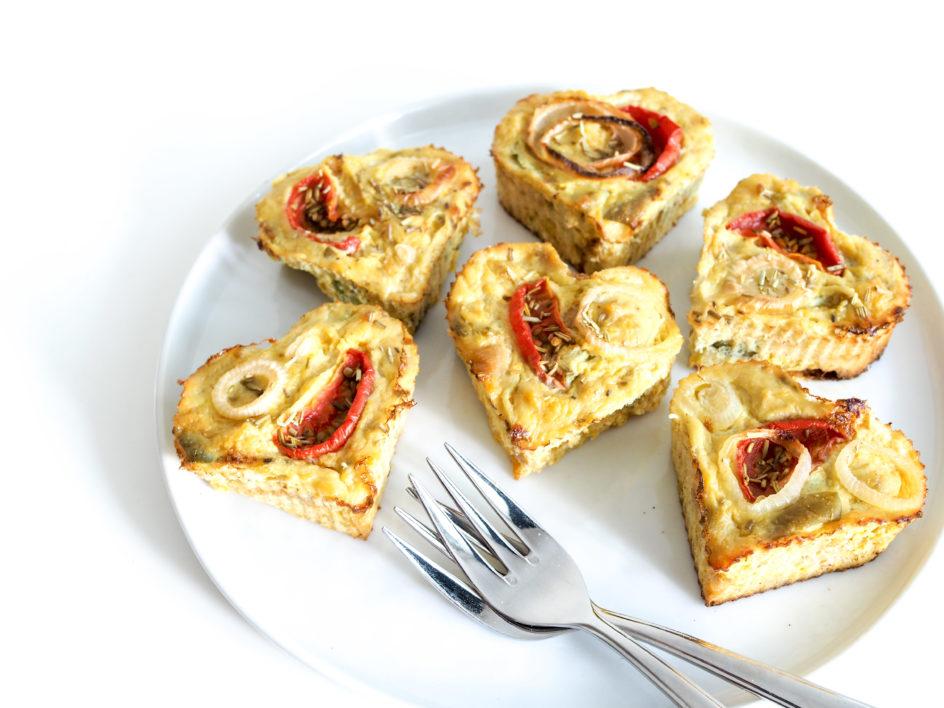 Kürbis Rosmarin Muffins - paleo