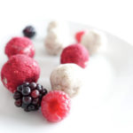 coconut berry protein balls