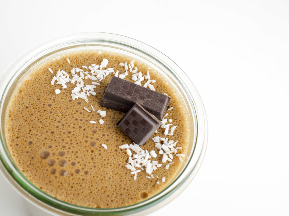 salted caramel chocolate jelly mousse